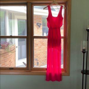Lush NWOT Fuschia pink dress